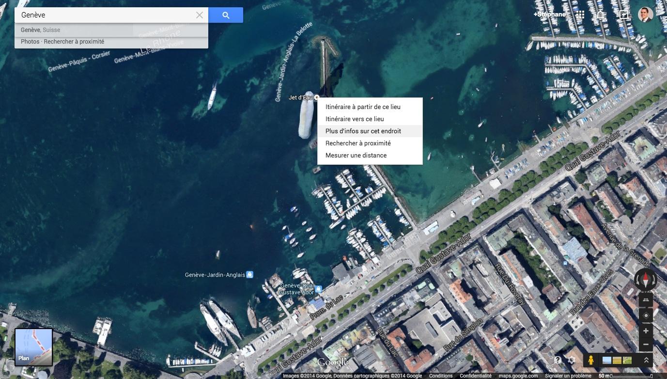 google maps trouver les coordonn es gps. Black Bedroom Furniture Sets. Home Design Ideas